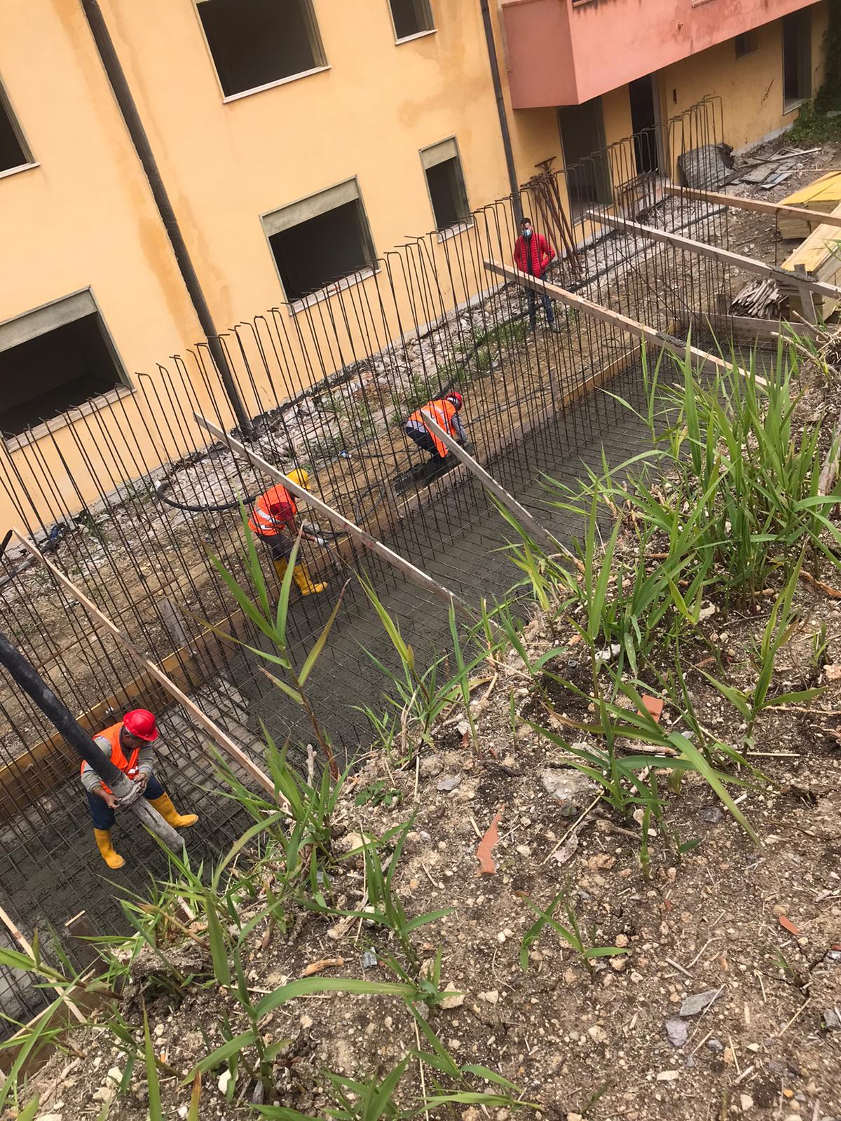 Progetto Abitare Villafranca Tirrena: in corso i lavori per realizzazione di 26 alloggi sociali e spazi comuni